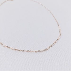 Jewelry - 14k Gold Filled Linked Choker Dainty Necklace
